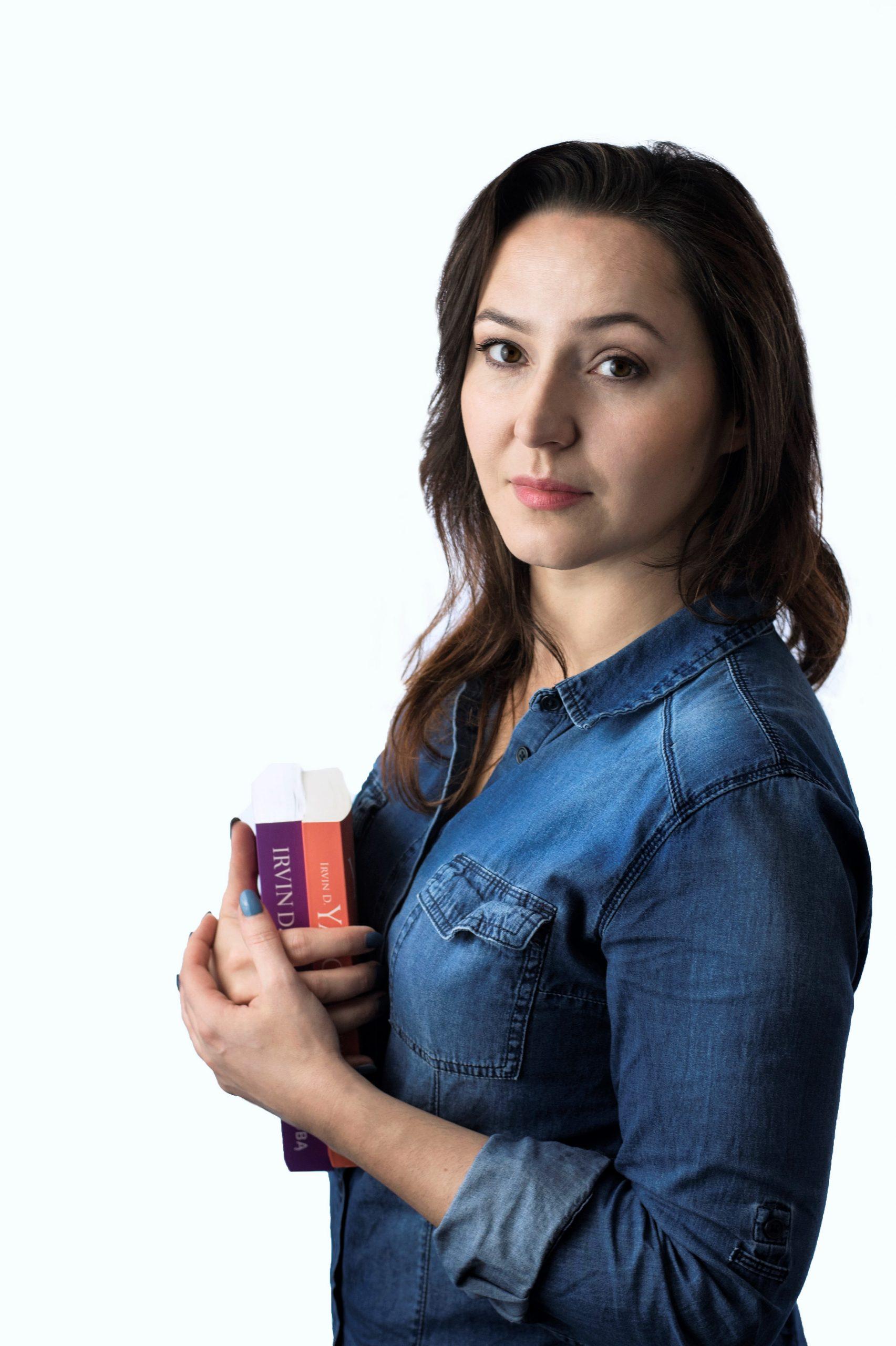 Paulina Bedrejczuk - jestem psychologiem ipsychoterapeutą